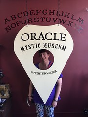 """Tracey in a Ouija Board • <a style=""""font-size:0.8em;"""" href=""""http://www.flickr.com/photos/28558260@N04/45378217855/"""" target=""""_blank"""">View on Flickr</a>"""