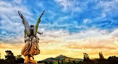Powerscourt Sky (PM Kelly) Tags: sugarloaf x70 irish heaven spiritual angel photography travel clouds sky sunset magical mystical ireland wicklow powerscourt