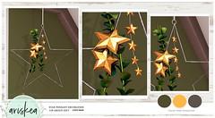 Ariskea December Group Gift♥ (ariskea) Tags: decor holidays ariskea gift group star pendant