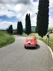 La Fiat 500 in Toscana (tom_p) Tags: joni toskana toscana strasse italien italia fiat500 fiat