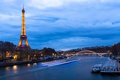 Eiffel Tower - Pont de l'Ama