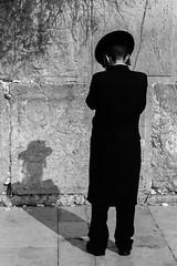 Western Wall | Jerusalem | Israel (gaalvarezc) Tags: photography streetphotography stphotographia street bw blackwhite blackandwhite monochrome people wall westernwall jerusalem israel religion culture canon shadow 50mm