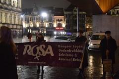 Mars tegen seksisme - 8 maart 2017 Gent