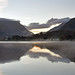 Padarn lake reflections