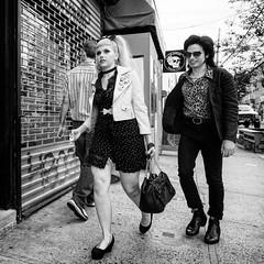 'Scuse me while I kiss the sky (mkc609) Tags: street streetphotography bw blackandwhite blackwhite urban candid nyc newyork newyorkcity