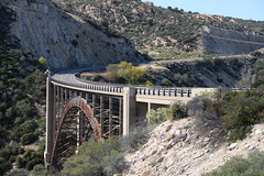 U.S. Hwy 60 Pinto Creek Bridge (Gila County, Arizona) (cmh2315fl) Tags: historicbridge trussbridge decktruss girderribbeddeckarch fishercontractingcompany pintocreekbridge ushwy60 us60 hwy60 pintocreek tontonationalforest gilacounty arizona arizonahistoricbridgeinventory americaninstituteofsteelconstruction aisc
