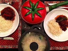 #meatballs in #Lesco #Vegetable  #sauce #Hungarian meal (RenateEurope) Tags: meatballs lesco vegetable sauce hungarian
