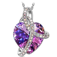 "CupidsGiftShop.com SIVERY ?Valentine's Day Gift? SIVERY ""Love Heart"" Women Jewelry... (cupidsgiftshop) Tags:"