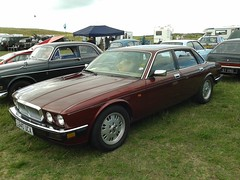 Jaguar Sovereign 3.2 L640UCA (Andrew 2.8i) Tags: pontarddulais show july 2014 pembrey classic car cars classics british saloon sedan xj xj40 luxury executive sovereign jaguar welsh wales uk unitedkingdom