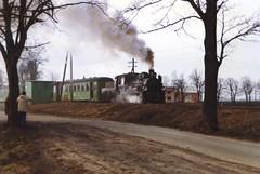 46.03 (Ray's Photo Collection) Tags: poland steam railway train pkp railways polish winter snow tour rail