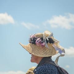 hat (stevefge) Tags: cuijk vierdaagse2017 vierdaagse people candid women street hats squares portrait unsuspectingprotagonists reflectyourworld nederland netherlands nl