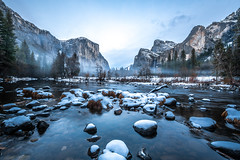 Nikon D850 Yosemite National Park Winter Valley View Bridalveil Falls El Capitan Snowy Merced River Rocks! Yosemite NP Elliot McGucken Fine Art Snow Photography! Nikon D850 & AF-S NIKKOR 14-24mm F2.8G ED from Nikon! High Res 4k 8K Photos! (45SURF Hero's Odyssey Mythology Landscapes & Godde) Tags: nikon d850 yosemite national park winter valley view bridalveil falls el capitan snowy merced river rocks np elliot mcgucken fine art snow photography afs nikkor 1424mm f28g ed from high res 4k 8k photos