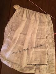 Baby Clouds Hand Knit Blanket. (Jack4Phil) Tags: original designed blanket white knit handmade