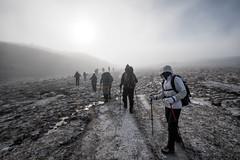 Trekkers and fog en route to Rinchen Zoe La pass - Wangdue Phodrang district - Snowman Trek - Bhutan (PascalBo) Tags: nikon d500 asie asia southasia asiedusud drukyul drukgyalkhap bhutan bhoutan འབྲུག་ཡུལ། འབྲུག་རྒྱལ་ཁབ་ snowman trek trekking hike hiking lunana wangduephodrang himalaya himalayas trekker mountain montagne mist fog brouillard brume outdoor outdoors pascalboegli