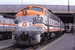 Maryland F9 (ujka4) Tags: marylanddepartmentoftransportation marc 7185 f9pha washingtondc districtofcolumbia unionstation