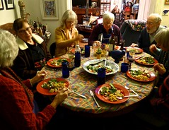 Celebrating Edith's birthday (ali eminov) Tags: wayne nebraska celebrations birthdays edithsbirthday food friends janet bonnie gilbert bob