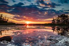 Sommer in Schweden (Betrachtungsweisen) Tags: 2018 sonnenuntergang eos77d rafshagsudden schweden juli sweden kalmar sunset langzeitbelichtung longexposure sommer summer