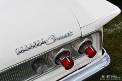 white comet (Hi-Fi Fotos) Tags: 1963 mercury comet badge tail light chrome white vintage american classiccar detail emblem logo 60s style design nikon d7200 dx hififotos hallewell