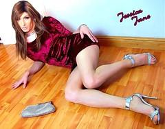 Velvet On The Ground (jessicajane9) Tags: tg crossdresser transgender crossdress tgurl feminised tv crossdressing transvestite feminization trans xdress tranny m2f travesti cd tgirl velvet