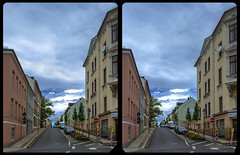 Reichenbach, Albertistraße 3-D / CrossView / Stereoscopy / HDRi (Stereotron) Tags: reichenbach vogtland saxony sachsen streetphotography deutschland germany europe quietearth cross eye view xview crosseye pair free sidebyside sbs kreuzblick bildpaar 3d photo image stereo spatial stereophoto stereophotography stereoscopic stereoscopy stereotron threedimensional stereoview stereophotomaker photography picture raumbild hyperstereo twin canon eos 550d remote control synchron kitlens 1855mm 100v10f tonemapping hdr hdri raw