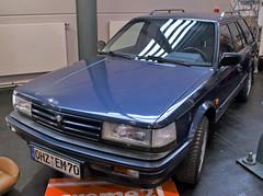 Bluebird Wagon (Schwanzus_Longus) Tags: bremen classic motorshow german germany old vintage car vehicle station wagon estate break kombi combi nissan bluebird traveller