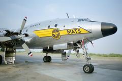 C-121A 48-0609 / N494TW, 1998 (Ian E. Abbott) Tags: lockheed c121a 480609 48609 7492601 749 constellation connie propliner mats n494tw