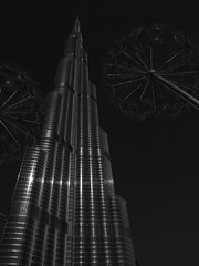 Burj Khalifa #1 (Thunderbird61) Tags: burjkhalifa dubai uae skyscraper mono monochrome sw bw zw nb architecture modern pentax pentax645z schwarzweis blackwhite zwartwit noirblanc neroblanco nigeralbus pentaxart mediumformat