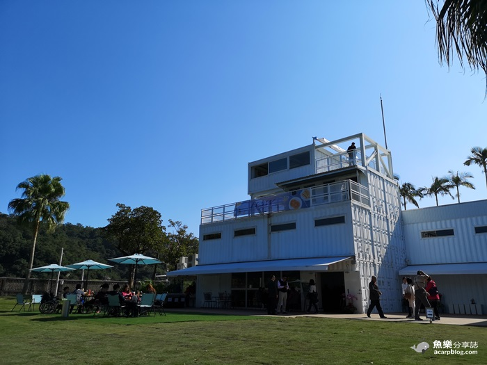 【宜蘭旅遊】全台最大純白貨櫃屋|龍潭湖悠活園區|湖畔絕美景觀 @魚樂分享誌