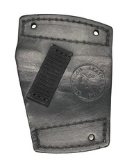 Springfield XDE Car Holster Back (americanleathersmith) Tags: carholster leatherholster gunholster concealcarry holster mounted leather