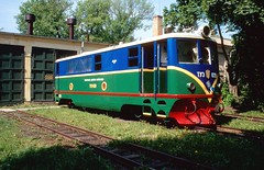 Pionierbahn / Children's railway Lviv: TU3-039 Lviv 25052003 B (Paul-760) Tags: uz ukraine oekraine ukrain lviv lvov childrens railway pionierbahn 750mm tu3 ty3