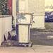VINTAGE PETROL PUMPS IN RANELAGH [ SANDFORD SERVICE GARAGE ESTABLISHED 1946 ]-146769