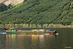 "Loch Lochy to Loch Ness, cruising in the Great Glen. (Scotland by NJC.) Tags: boat barge ""cabin cruiser"" ""canal boat"" canoe ""fishing مَرْكَب barco 小船 brod loď båd boot vene bateau βάρκα nave ボート 배 båt łódź barcă forest woodland plantation trees grove ""temperate rainforest"" غَابَة floresta 森林 šuma les skov bos ""bosque grande"" metsä forêt wald δάσοσ foresta skog las pădure lakes lochs reservoirs waters meres tarns ponds pool lagoon lago 湖 jezero sø meer järvi lac see λίμνη 호수 lochlochy greatglen lochness"