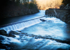 The Quabbin Spillway (Peter Camyre) Tags: quabbin reservoir spillway landscape picture image canon 5d mkiii peter camyre photography photograph photographer nature beauty beautiful pretty cold water sloe shutter speed ef2470mmf28liiusm canoneos5dmarkiii