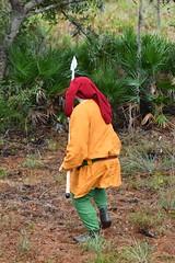 EEF_7631 (efusco) Tags: boar medieval spear brambleschoolearteofthehunt bramble schoole military arts academy florida ferel hog pig