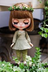 Vintage Styles (Ylang Garden) Tags: blythe momoko dress coat top pant
