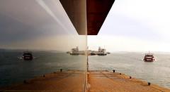 SIMETRIA MARITIMA (agustincordoba_g) Tags: pedreñeras barcas luz arte agustin cordoba