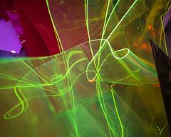 Light Art (bayernphoto) Tags: muenchen munich bayern bavaria innenstadt city kunst art bilder paintings museum moderne architektur design pinakothek der 20jahrhundert century licht light kunststoff led plastic plastik neon gruen transparent kurven gelb