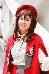 SIK09 D1 (紅色小草) Tags: cosplay nikon fa 5014 13528 sik09d1 南台科技大學