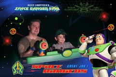 Florida Day 3 - The Magic Kingdom Buzz Lightyear Space Ranger Spin Photopass 07 (TravelShorts) Tags: walt disney world wdw magic kingdom be our guest beast food tiana rapunzel characters buzz lightyear space ranger spin light year seven dwarfs mine train photopass maker ariel princess fairytale hall haunted mansion