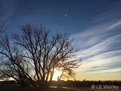 January 8, 2019 - A gorgeous sky in Thornton. (LE Worley)