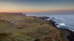 Portskerra Sunset (Les Armishaw) Tags: waves rocks sky sunset north atlantic coastal coast melvich portskerra scotland unitedkingdom gb