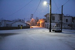 Άγιος Σπυρίδωνας Βοιωτίας. (Giannis Giannakitsas) Tags: snow χιονι greece grece griechenland αγιοσ σπυριδωνασ ορχομενοσ βοιωτια orchomenos viotia canon 4000d