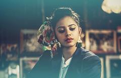 Portrait mode (Captured by Bachi) Tags: artist makeup shoot canon modelling model new me bestshot portraits portrait