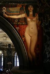 Gustav Klimt: Egypt I (Wolfgang Bazer) Tags: gustav klimt ägypten egypt i isis ankh anch zwickelbild staircase stiegenhaus kunsthistorisches museum wien vienna painting gemälde ölgemälde oil canvas öl auf leinwand akt nude österreich austria jugendstil art nouveau