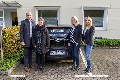 Bei IBB mattis in Eversten haben Hanna Naber MdL und ich einen spannenden Einblick in die Themen Schulbegleitung und Inklusion erhalten.