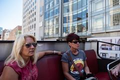Back Seat Girls (Dominic Sagar) Tags: amy arlen bus felsen friends lisa sanfrancisco open seat sunglasses california unitedstates us