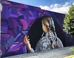 Mirror Mirror (WIP) by Nelson Cekis & Javier Barriga (wiredforlego) Tags: graffiti mural streetart urbanart aerosolart publicart bushwick brooklyn newyork nyc nelsoncekis javierbarriga