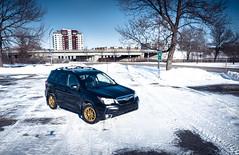 Winter car! (Brian Panda Dorval) Tags: subaru forester xt turbo drone dji mavic mavic2pro mavicpro winter