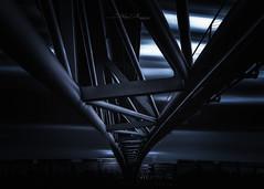 Cité Internationale (Stéphane Sélo Photographies) Tags: architecture citéinternationale france lyon pentax pentaxk3ii rhône blending bluehour city cityscape coucherdesoleil landscape sunset urban urbanlandscape ville