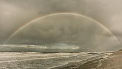 oostkapelle (Omroep Zeeland) Tags: zee wind regenboog noordzee oostkapelle zeeland water strand walcheren